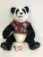 """BEAVER VALLEY Po-Hsi 24"""" Teddy Bear Panda SIGNED 46/100 Kayla Nilan '91 COA"""