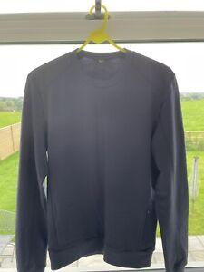 Rapha Blue Merino Sweatshirt