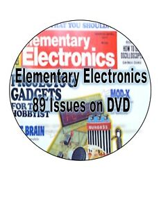 Elementary Electronics Magazine 89 Issues on DVD - .pdf Files