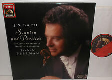 EX 7 494831 Bach Sonatas And Partitas For Solo Violin Itzhak Perlman 2LP Box Set