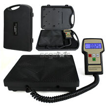 The Best Digital Refrigerant Electronic Charging Scale 220 lbs HVAC w/ Case