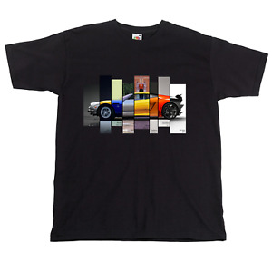 Lamborghini T shirt Evolution of Lamborghini Super Cars Tshirt great gift idea