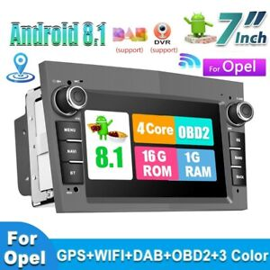 """7"""" 2Din Android Car Stereo GPS Sat Nav Radio For Opel/Astra/Corsa/Zafira/Meriva"""