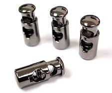 2pairs Metal Shoe laces pump Lace Locks Buckle Stopper for Air Jordan Gunmetal