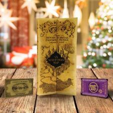 Harry Potter Marodeure Marauder's Karte Hogwarts Express Ticket Das Weihnachten)