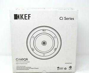 KEF Ci160QR Ceiling Speaker, Thin Bezel, Round, 160mm Driver - NEW SEALED BOX
