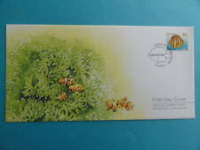 2004 FDC Singapore First Day Cover Tropical Marine Fishes Definitives Low Value