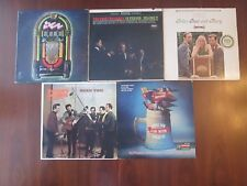 Lot of 6 Oldies LP Records Big Bopper Sonny James The Four Freshmen & More!