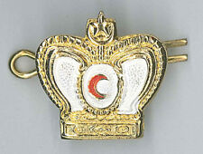 MALAYSIA / MALAYSIAN RED CRESCENT (CROSS) - Officer's Ranking Metal Crown Patch
