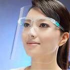 Mund und Nasenschutz Plastik, Face Shield Maske, Transparent Schutzvisier 5 Stk.