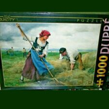 Harvesters by Julien Dupre, 1000 pied D-Toys jigsaw puzzle Brand New
