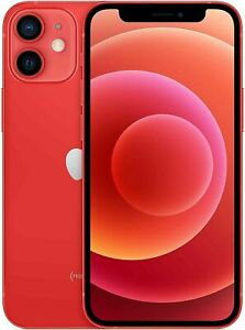 Apple iPhone 12 mini 5G 5.4'' Smartphone 128GB Sim-Free Unlocked (Product Red)