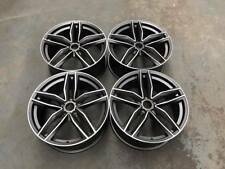 "20"" Audi RS6C Style Alloy Wheels Gun Metal Machined Audi A4 A6 A8 5x112 Avant"