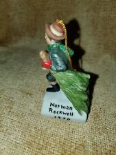 1990 Norman Rockwell Figurine Ornament Dave Grossman The Country Gentleman