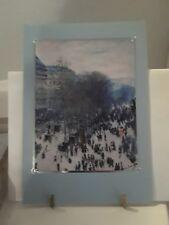 Holiday / Christmas Greeting Card- Blank Inside - Claude Monet - Hallmark 16