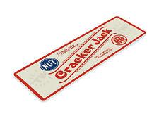 Cracker Jack Sign, Retro Rustic Candy Popcorn Caramel Tin Sign B224