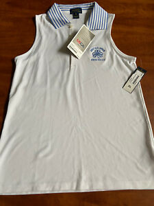Erin Hills 2017 PGA Ralph Lauren US Open Girls XL White Polo Shirt NWT