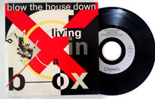 Living in a box (blow the house down) 45T1989- French promo-vinyl Mint /Mint