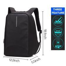 Rucksack Anti Diebstahl Wasserdicht Laptop mit Puerto USB Falten Nomad Negro2