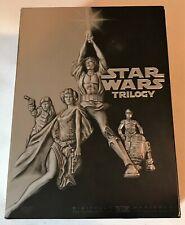 Star Wars Trilogy: Episode 4 + 5 + 6 (4-Disc DVD Set 2004) ANH ESB ROTJ IV V VI