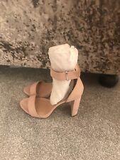 New Look Nude Sandal Heels Size 5