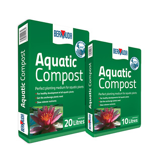 BERMUDA AQUATIC COMPOST POND PLANT SOIL PLANTING WATER SUBSTRATE