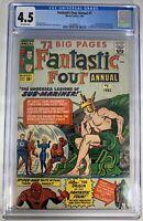 Fantastic Four Annual #1 CGC 4.5 1963 2039689011