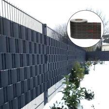 Mucola 19x252,5cm PVC-Sichtschutzstreifen - Anthrazit, 10 Stück