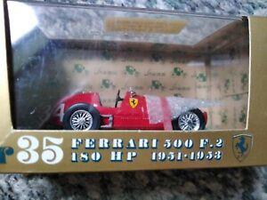 BRUMM MODELS / F1 -  1951-53 FERRARI 500 F2  - 1/43 scale model car wrong base