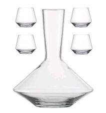 Schott Zwiesel Pure Decanter & Stemless Wine Glass Set Williams-Sonoma Riedel