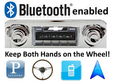 Bluetooth Enabled 59-60 Impala Bel Air 300 watt AM FM Stereo Radio iPod, USB