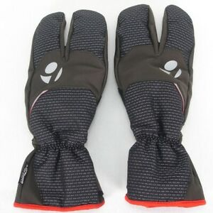 Size S TREK Bontrager INFORM Softshell Clam Winter Cycling Glove: Seriously warm