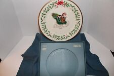 Lenox 1991 Ltd. Ed. Holiday Collector's Plate - 1st in Series - Very Good Cond.