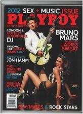 Playboy April 2012 / Bruno Mars / Jon Hamm & Megan McCain Interviews