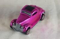 Restored Hot Wheels Redline - 1969 - '36 Ford Coupe - Pink