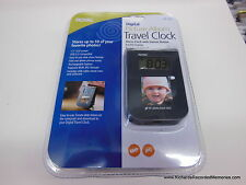 Royal Digital Travel Clock Picture Photo Album PF141 39103T ALARM SNOOZE FREE PH