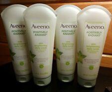 X4 Aveeno Positively Radiant Skin Brightening Daily Scrub 7oz