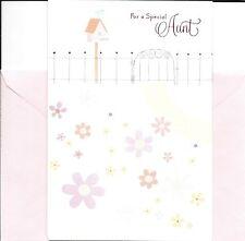 Happy Birthday To A Special Aunt Bluebird Birdhouse Greeting Card By Hallmark