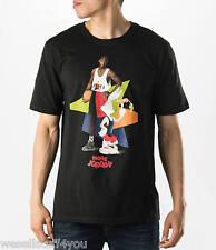 Air Jordan Retro 7 VII Hare WB Black T-Shirt Men's Size XL X-Large New