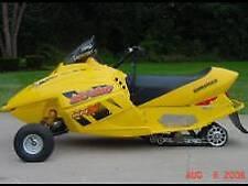 SKI-DOO 1998-2009 MINI Z 120 Models 8″ Ski Front Wheel Kit – 1639-795