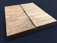 Quilted Sapele Wood Knife Handle Blanks Scales Gun Grip Exotic Lumber