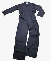 Mens Navy Blue Mechanics Overall Boiler Suit Workwear |S-3XL|