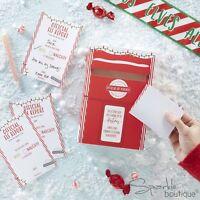 CHRISTMAS ELF REPORT CARDS & POST BOX - Santa's Elves Xmas Advent Shelf Idea