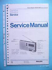 Manuel d'instructions service pour Philips 90 AS 300, original