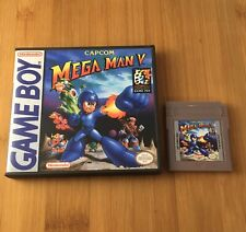 Mega Man V 5 - w/New Custom Case - Nintendo Game Boy Color GBC - US Seller!