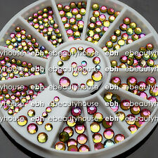 Nail Art Decoration Dazzling Multicolor Clear Crystal Glitter Rhinestones EB-023