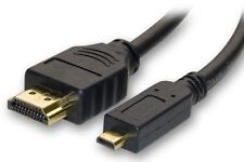PANASONIC LUMIX DMC-FX40, DMC-FX48 DIGITAL CAMERA MICRO HDMI CABLE FOR TV 3D 4K