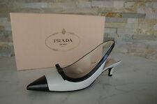 Lujo prada pumps slingbacks GR 36 zapatos heels Shoes Scarpe nuevo PVP 490 €