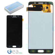 SAMSUNG Display LCD Originale + Touch Screen Per Galaxy A5 2016 SM-A510F Nero