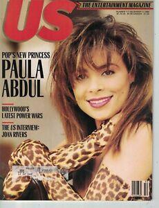 1989 US December 11 -Paula Abdul; Bette Davis; Joan Rivers; Ethan Hawke; G Close